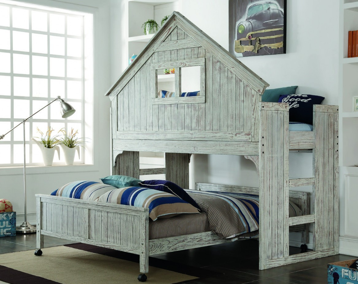 Donco Kids Tall Caster Bed