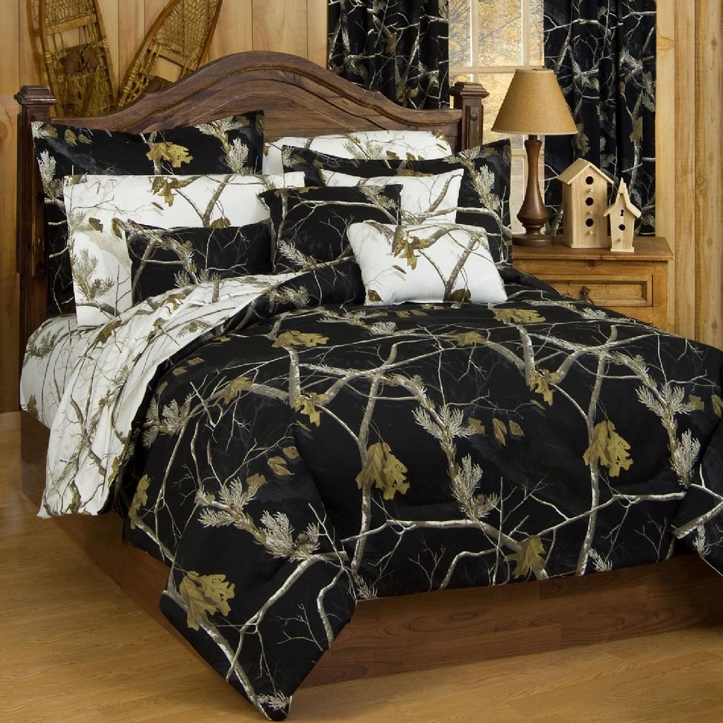 AP Black Comforter Sham Set Full - Kimlor 07174800983RT