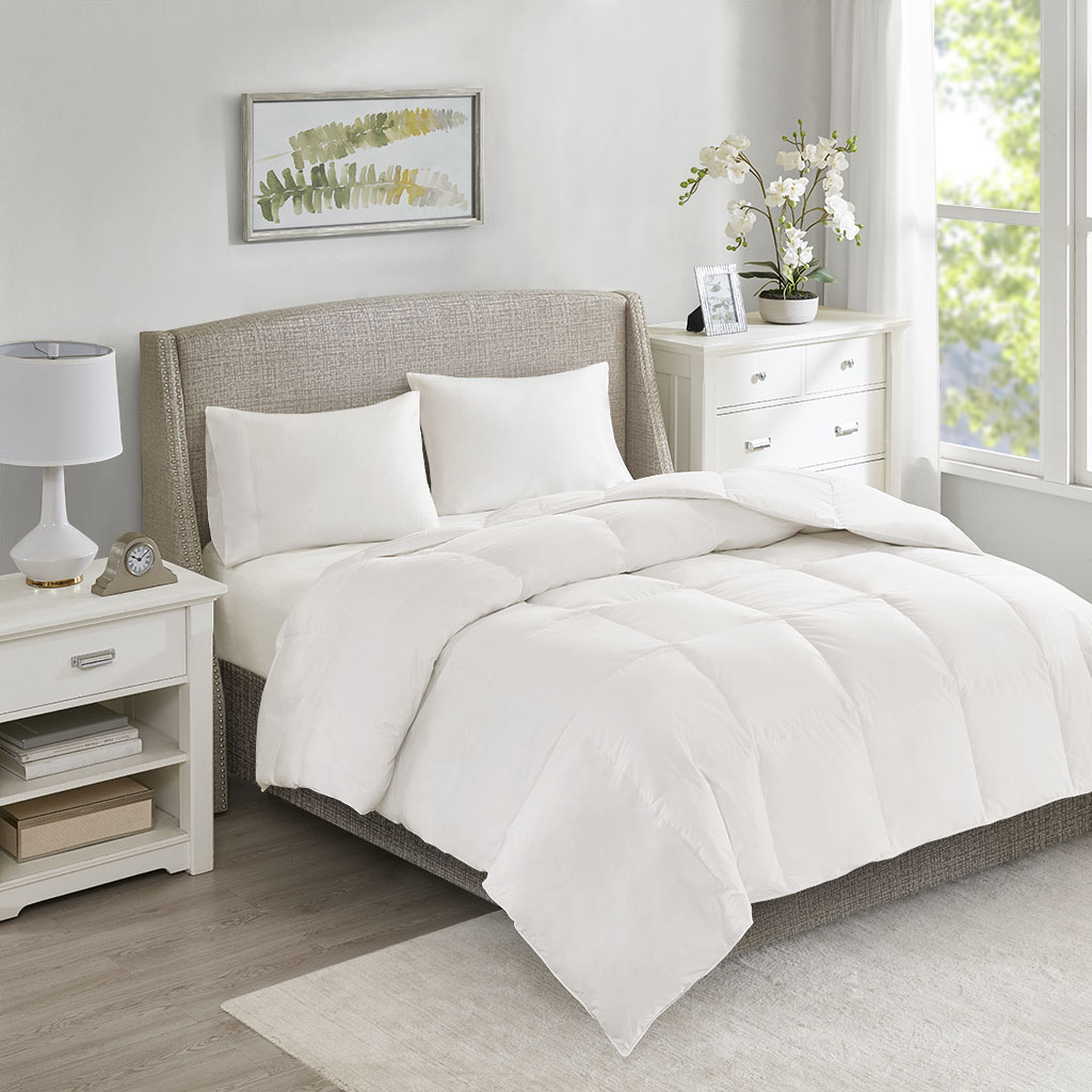 True North by Sleep Philosophy All Season Warmth Full/Queen Oversized 100% Cotton Down Comforter - Olliix TN10-0348