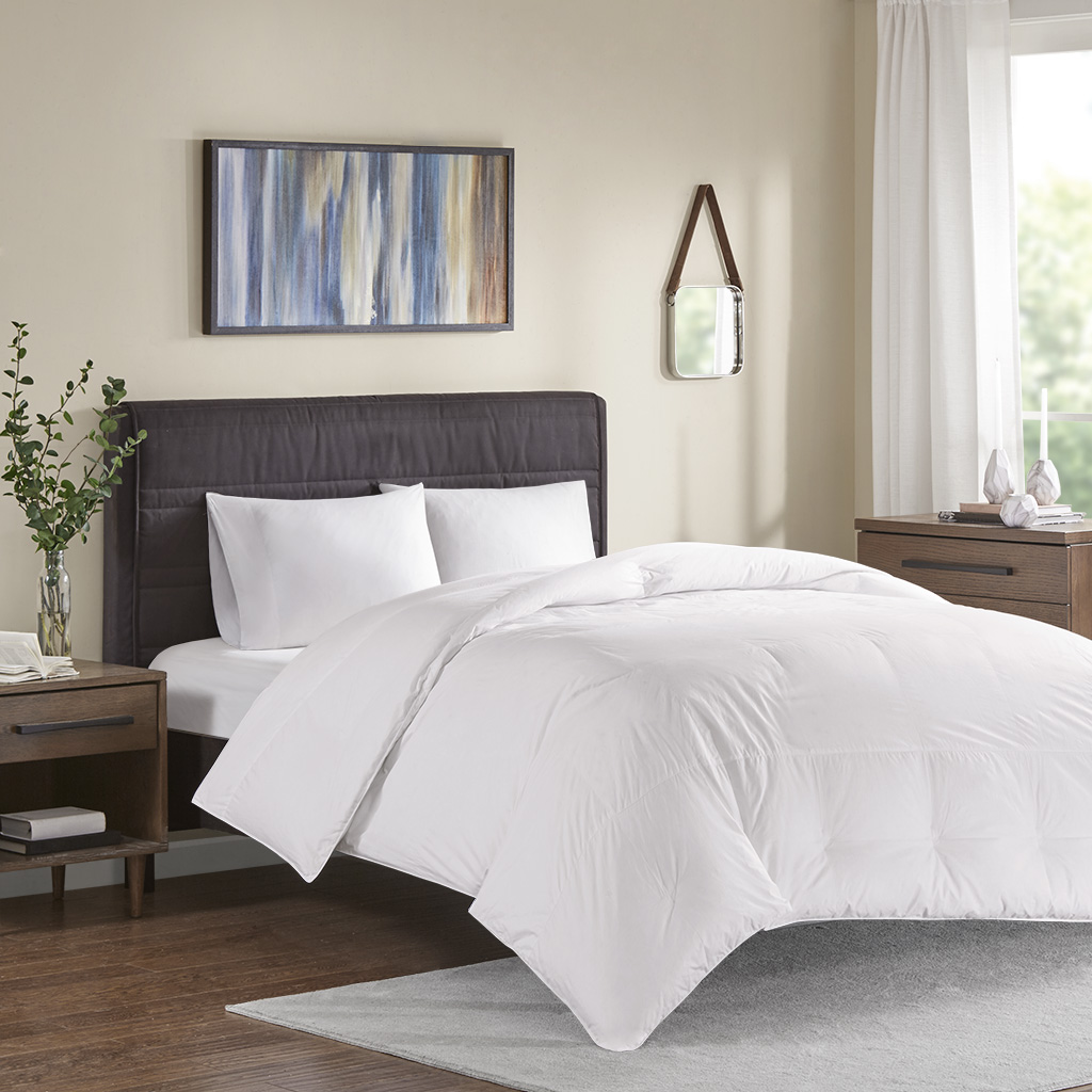True North by Sleep Philosophy Extra Warmth Twin Oversized 100% Cotton Down Comforter - Olliix TN10-0350