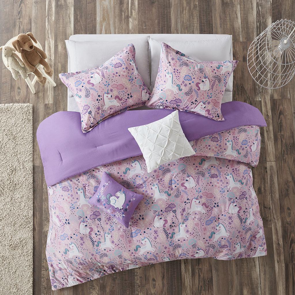 Urban Habitat Kids Lola Full/Queen Cotton Printed Comforter Set - Olliix UHK10-0099