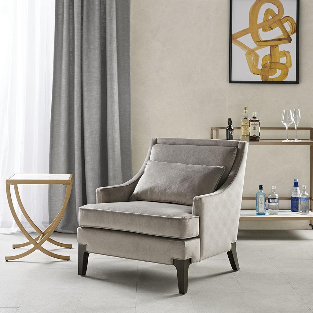 Martha Stewart Anna Arm Accent Chair- Olliix MT100-0053