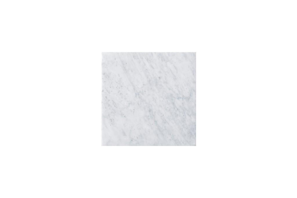 """15"""" Linen Top, 3 CM Carrara Marble, No Holes - James Martin 090-T15-CAR"""