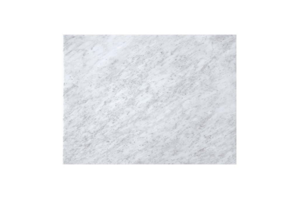 """30"""" Linen Top, 3 CM Carrara Marble, No Holes - James Martin 090-T30-CAR"""