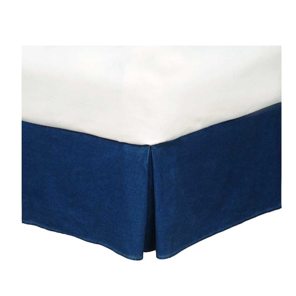American Denim Bedskirt Twin - Kimlor 09009500064KM