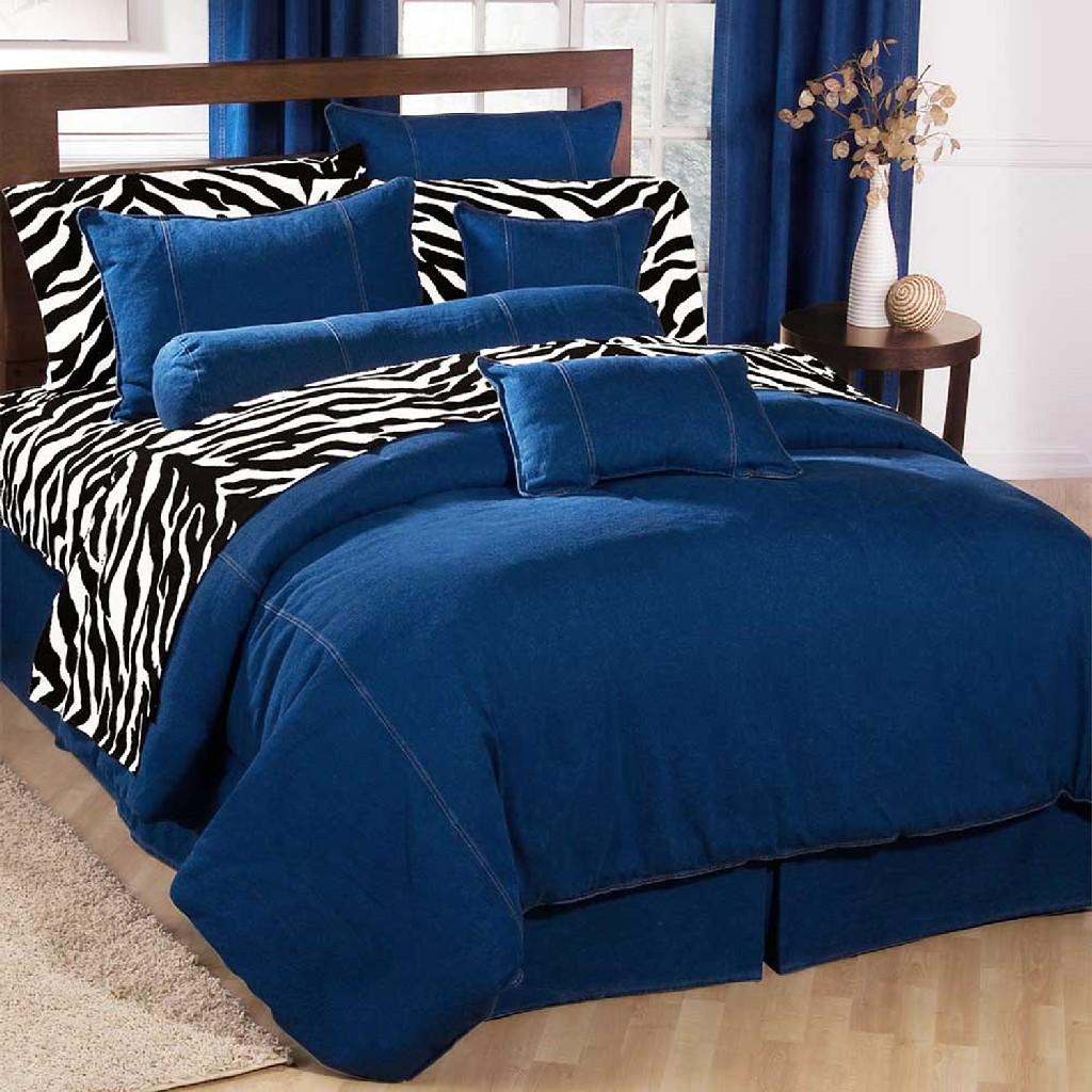 American Denim Duvet Cover Ca King - Kimlor 09009500065KM