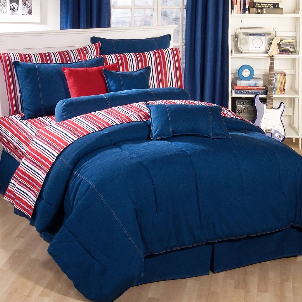 American Denim Comforter Queen - Kimlor 09009500072KM