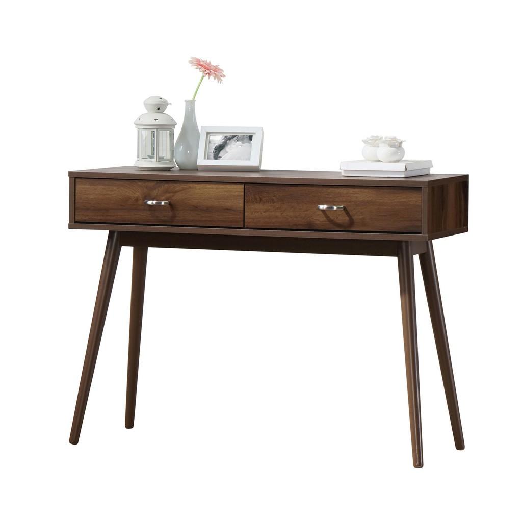 Montage Midcentury Desk in Walnut - 4D Concepts 151000