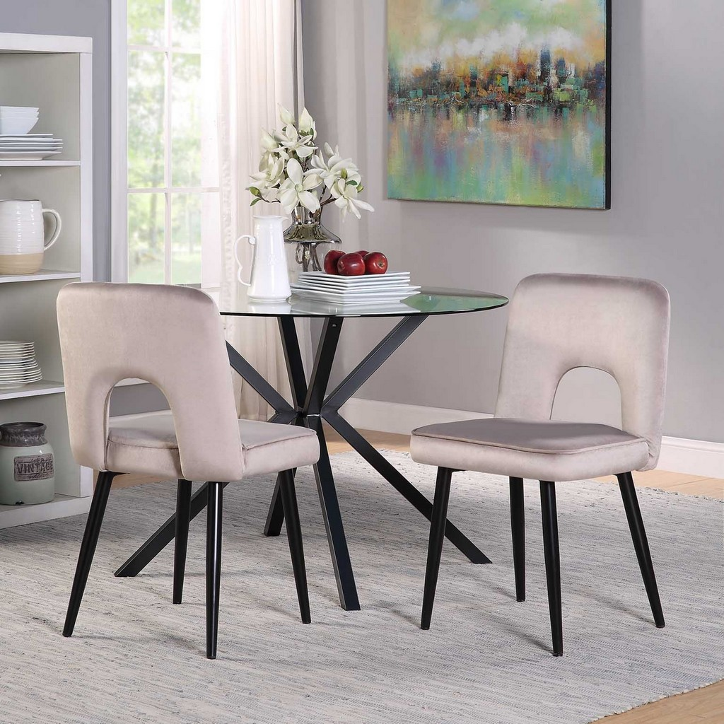 Nancy Chair (2 per box) - 4D Concepts 251037