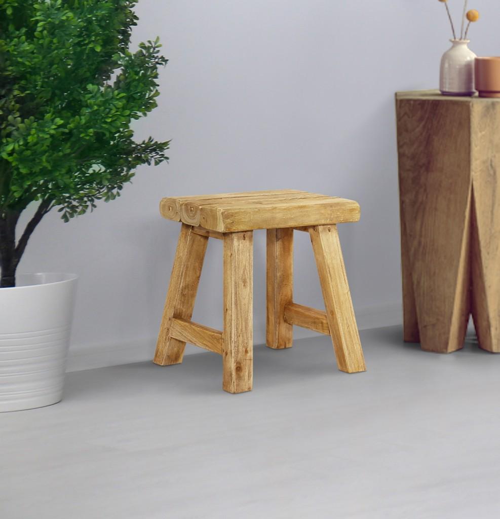 Java Log Stool - 4D Concepts 694301