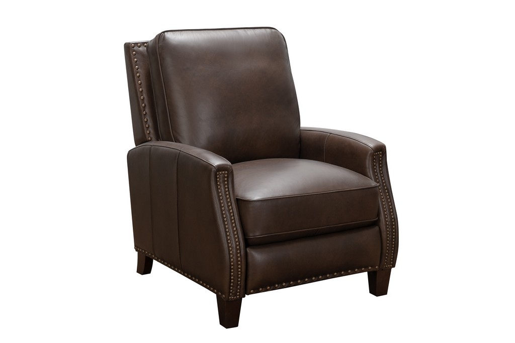 Barcalounger 7-3155 Melrose Recliner in 5625-87 Ashford Walnut / All Leather