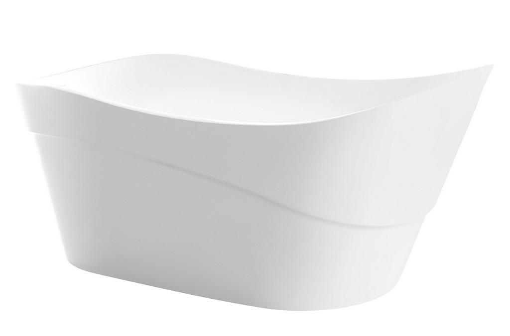 Kahl Freestanding Bathtub White