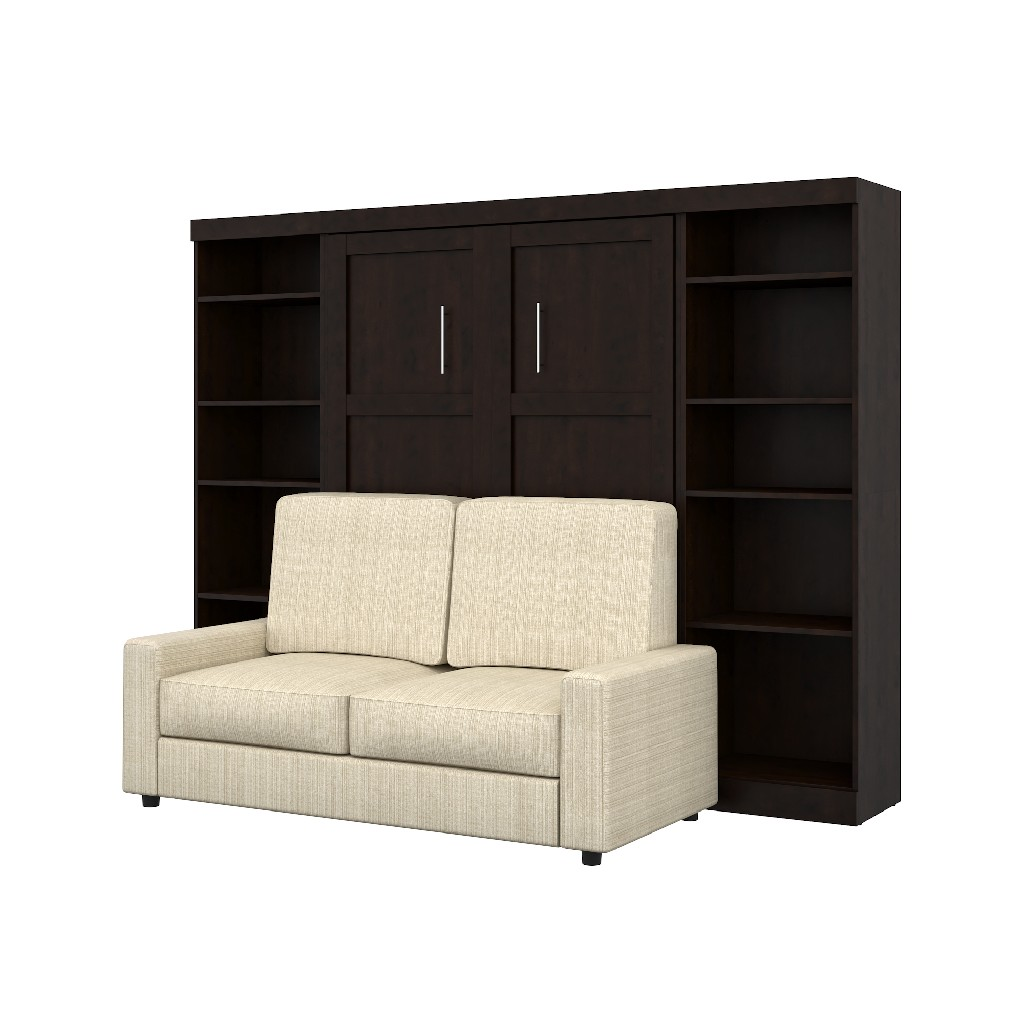 Wall Bed Two Storage Units Sofa Set