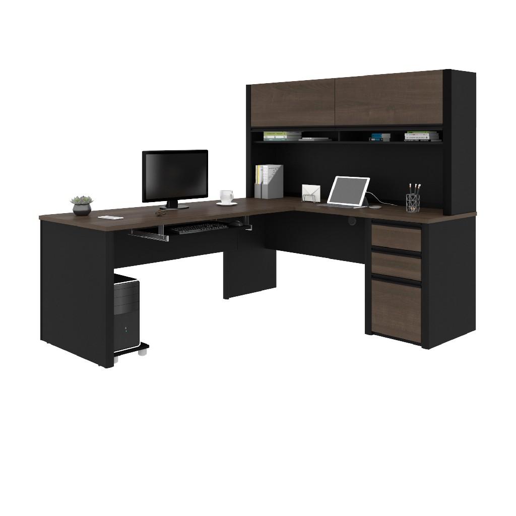 Workstation Hutch Black