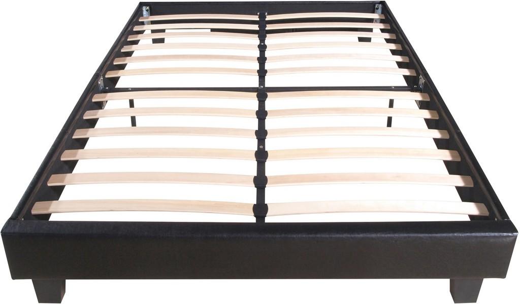 Acton Platform Bed, King, Black - Camden Isle Furniture 132133