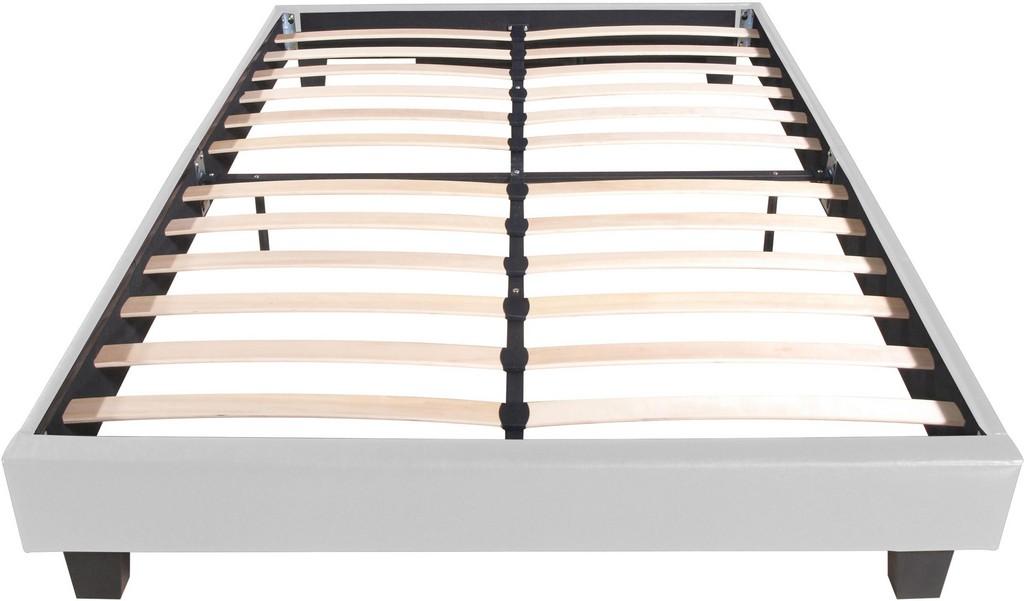 Acton Platform Bed, King, White - Camden Isle Furniture 132233