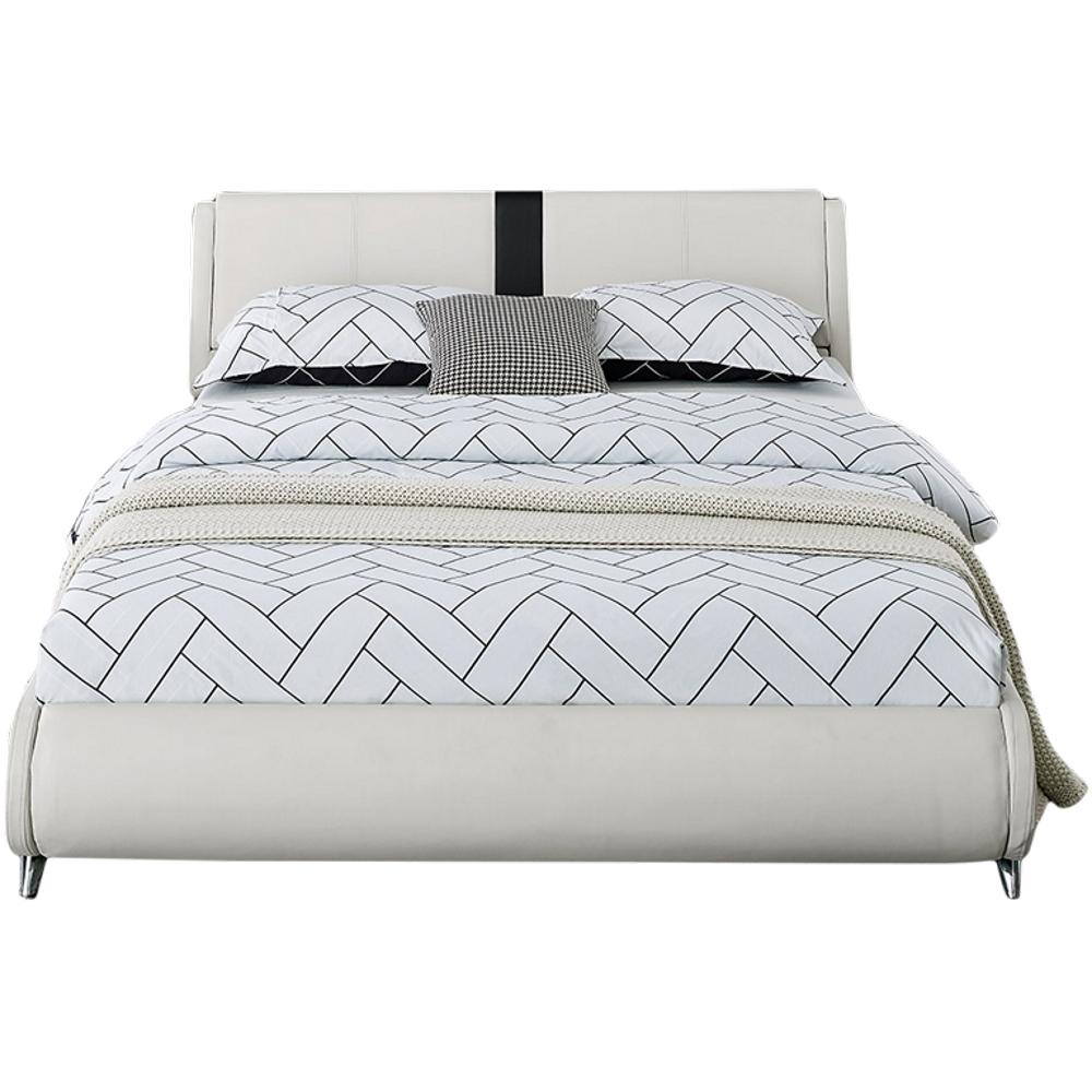 Carlton Bed, Queen, White - Camden Isle Furniture 212232