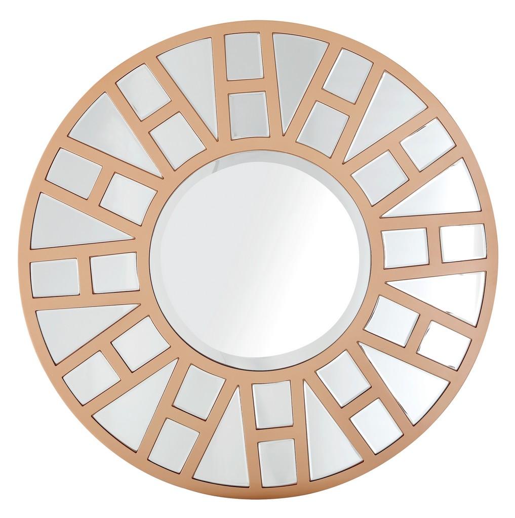 Millennium Circular Mirror - Camden Isle Furniture 86317