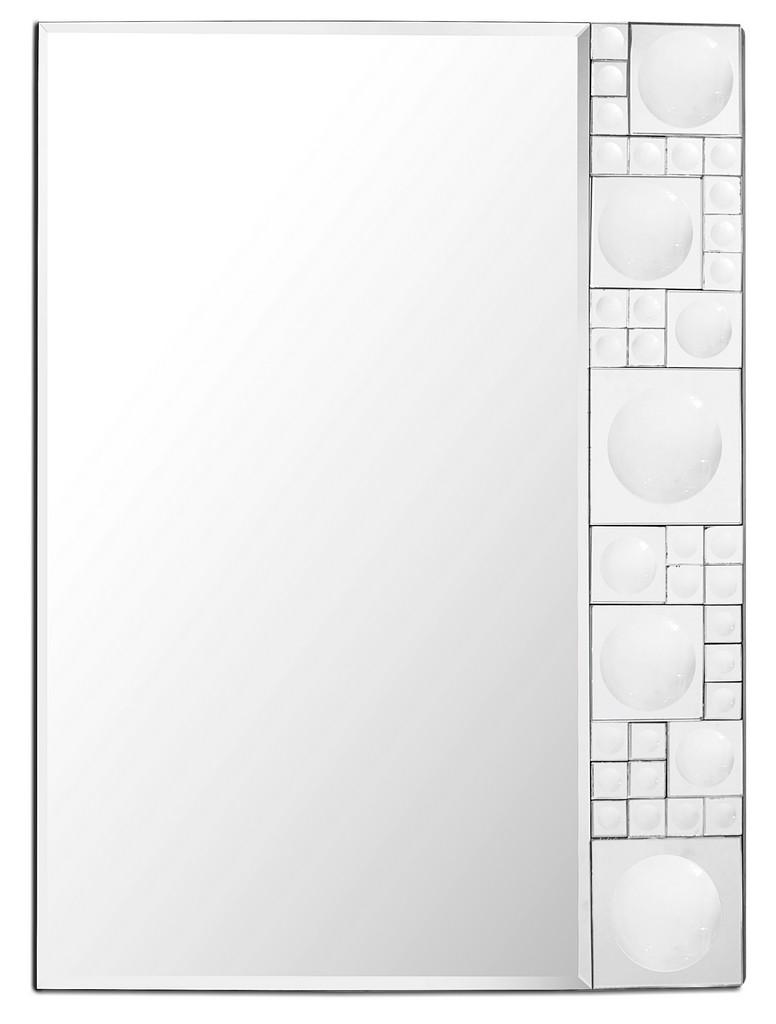 Bubbles Geometric Mirror - Camden Isle Furniture 86332