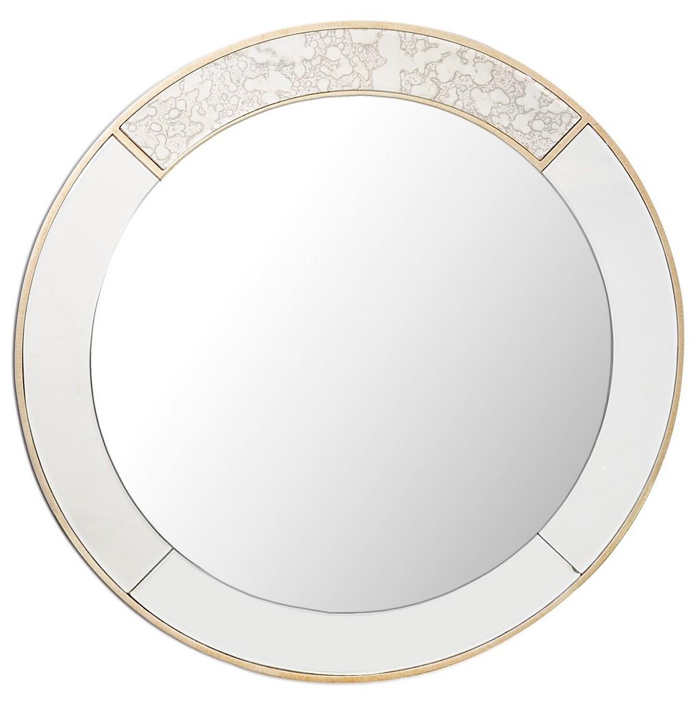 Brooks Round Mirror - Camden Isle Furniture 86334