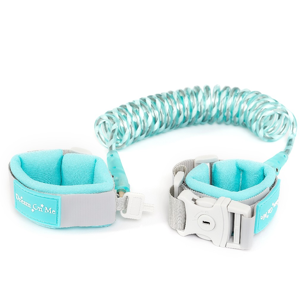 Anti-Lost Wrist Link w/ Lock & Key in Blue - Dream On Me 291-BLUE