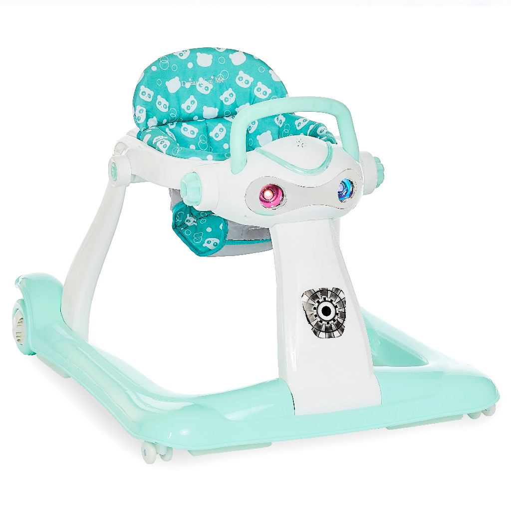 2-in-1 Charlie Car Walker in Mint - Dream On Me 414-MINT