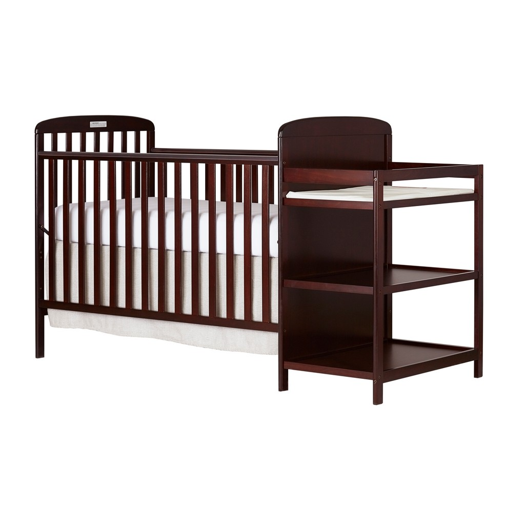 Anna 4 in 1 Convertible Crib and Changing Table Combo - Dream On Me 678-C