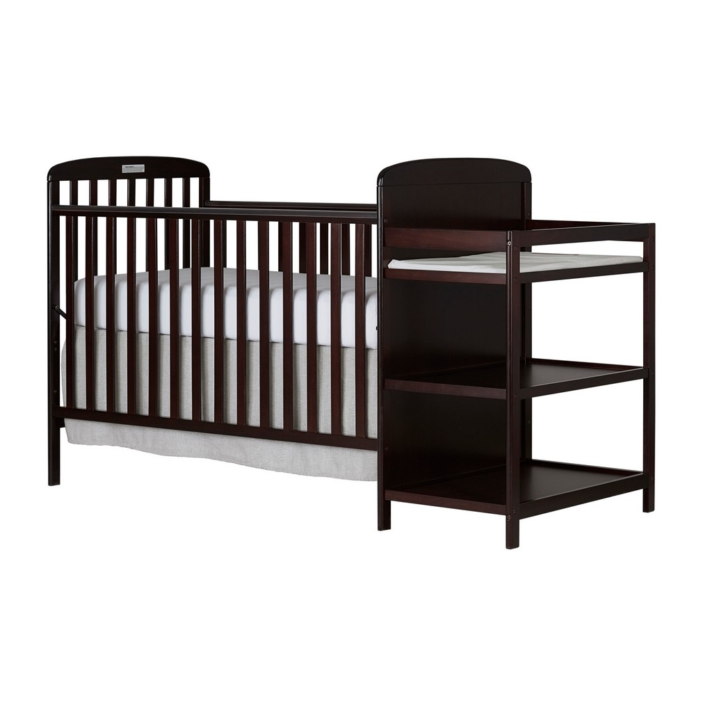Anna 4 in 1 Convertible Crib and Changing Table Combo - Dream On Me 678-E