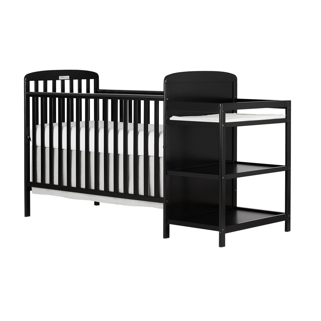 Anna 4 in 1 Convertible Crib and Changing Table Combo - Dream On Me 678-K