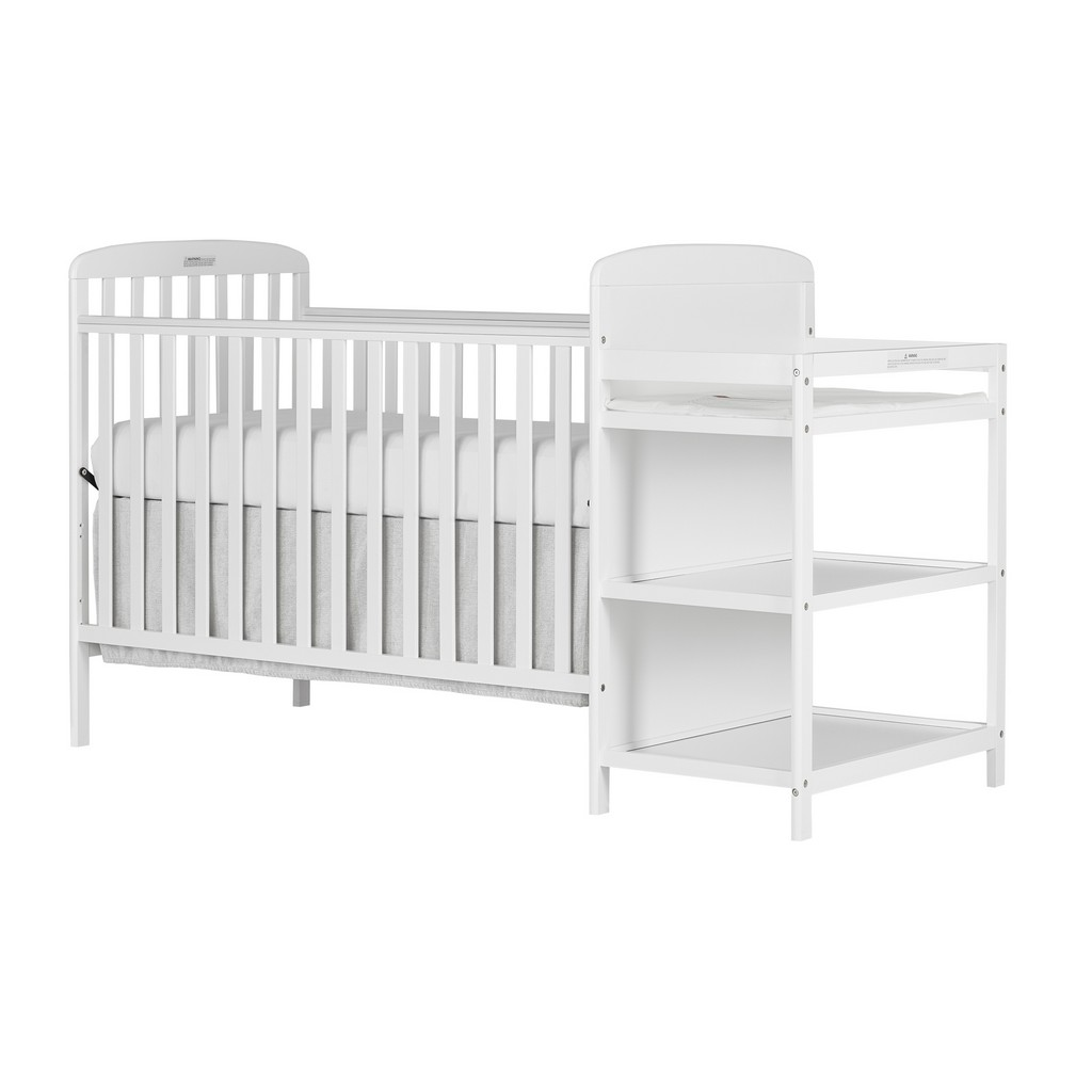 Anna 4 in 1 Convertible Crib and Changing Table Combo - Dream On Me 678-W