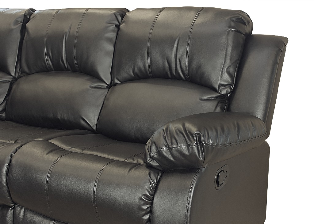 Myco Black Sectional
