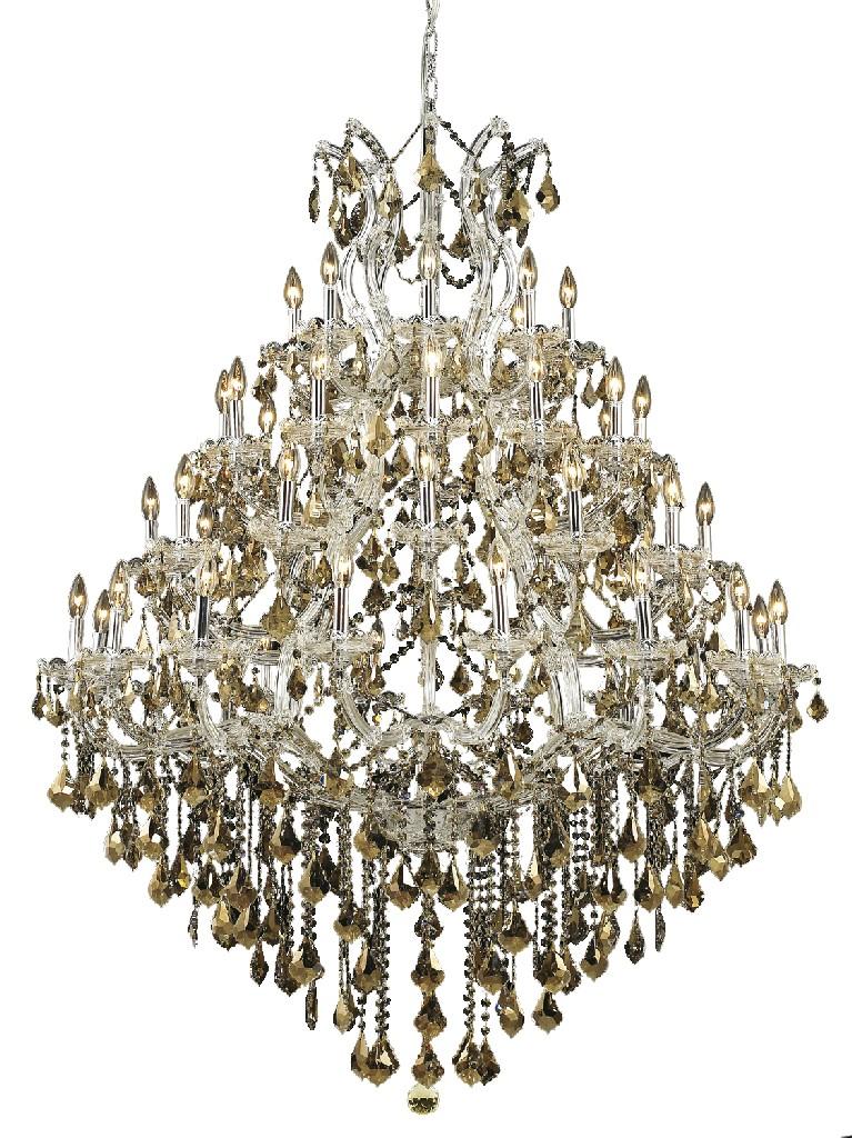 Chandelier | Elegant | Crystal | Golden | Chrome | Maria | Royal | Light | Cut