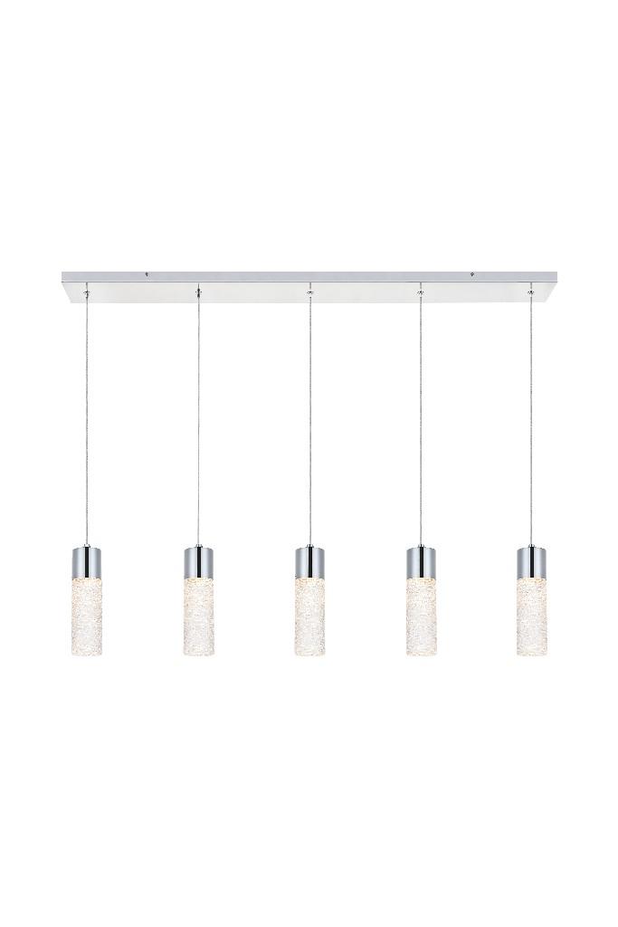 Elegant   Pendant   Chrome   Light   LED