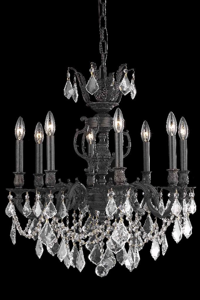 Lighting Bronze Chandelier Light Crystal