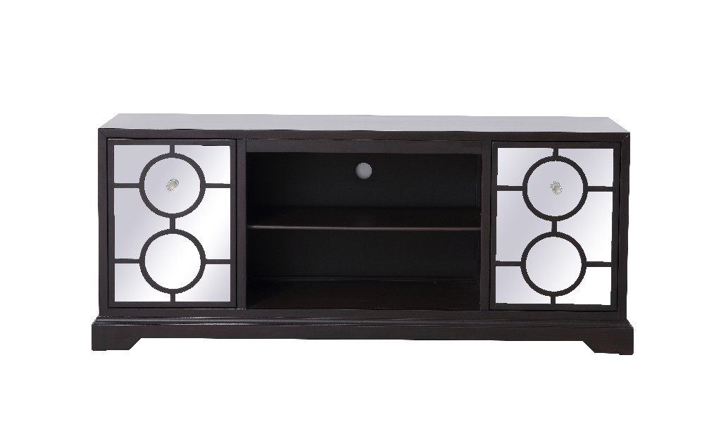 Lighting Mirrored Tv Cabinet Stand