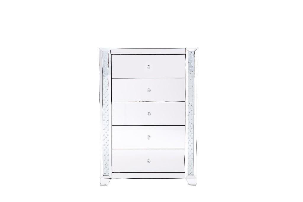 Lighting Furniture Cabinet Mirrored Drawer
