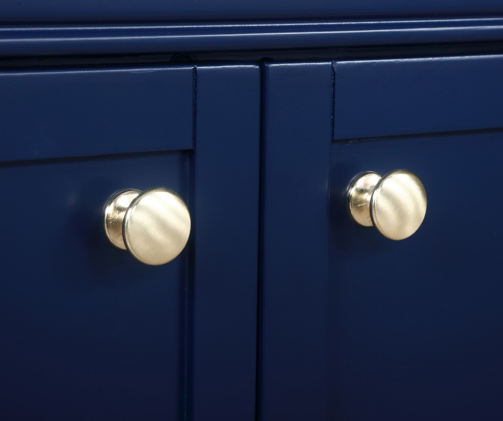 24 inch single bathroom vanity in Blue - Elegant Lighting VF15024BL