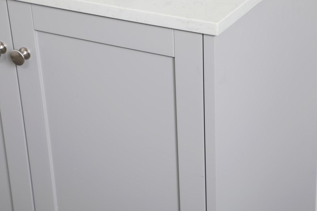 Elegant Lighting Single Bathroom Vanity Grey Backsplash