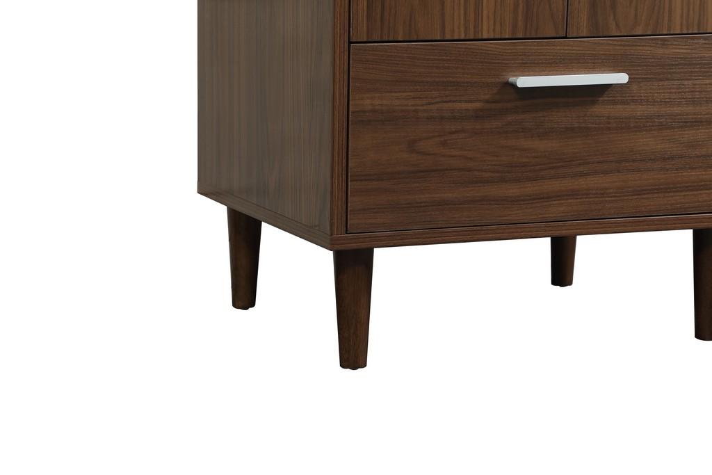24 inch bathroom vanity in Walnut - Elegant Lighting VF47024MWT