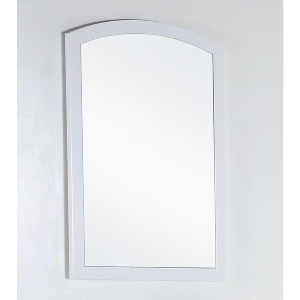 22 in. Wood framed mirror - BellaTerra 500701-MIR-22