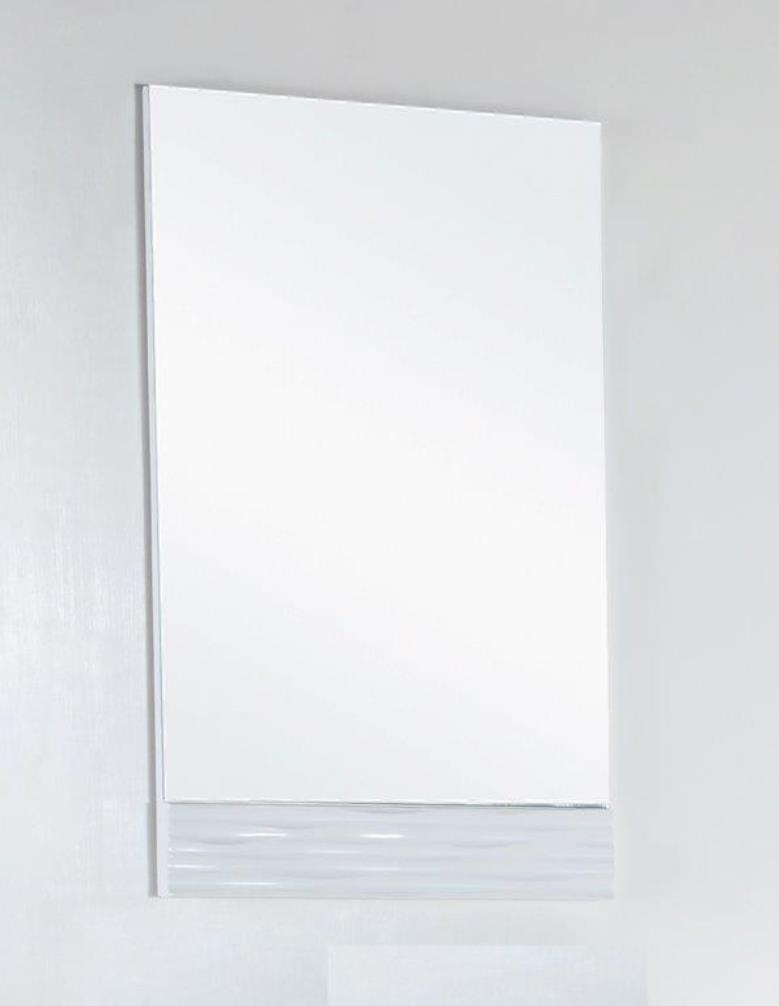 22 in. Wood framed mirror - BellaTerra 500709-MIR-22