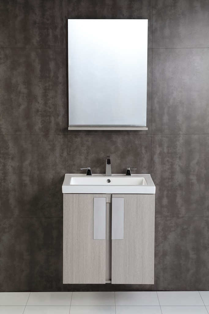 24 in. Single sink vanity - BellaTerra 500822-24