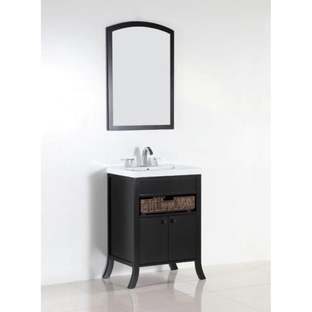 24 in. Single sink vanity - BellaTerra 500823A-24