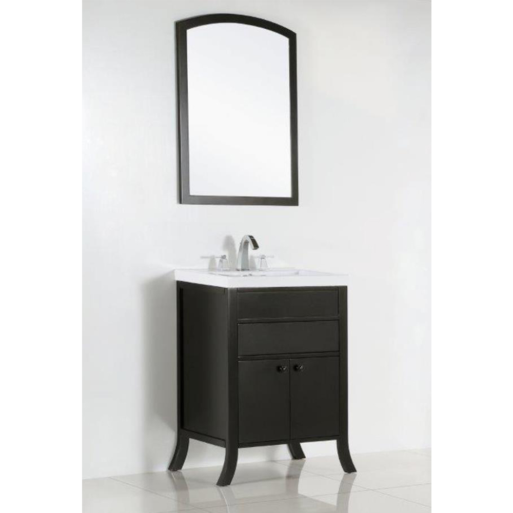 24 in. Single sink vanity - BellaTerra 500823B-24