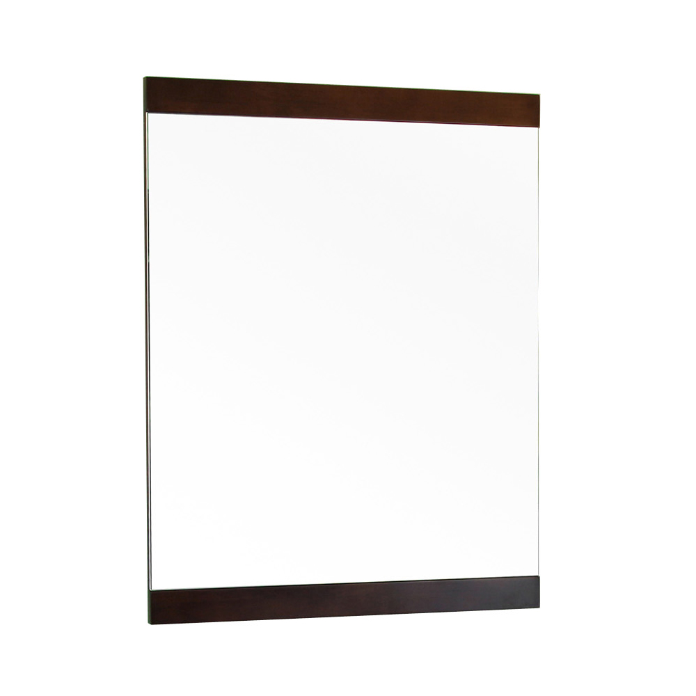 23.6 in Mirror-walnut-Wood - BellaTerra 804366-MIRROR