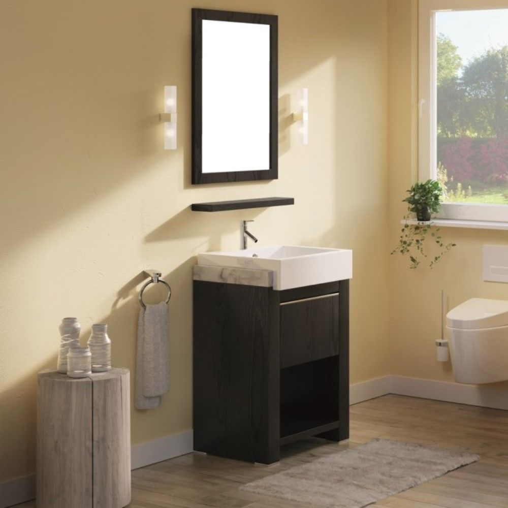 24 in. Single sink vanity - BellaTerra 804375A-24-BL