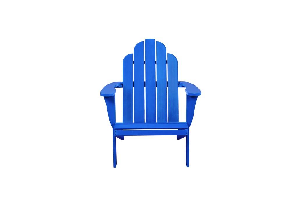 ADIRONDACK CHAIR BLUE - Linon OD20BLU01