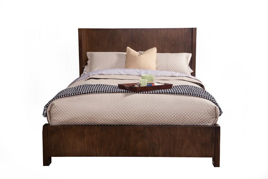 Austin Mirror in Chestnut - Alpine Furniture 1600-06
