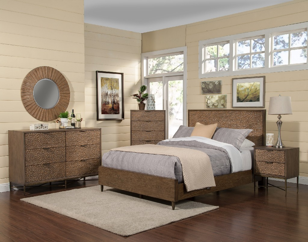 Alpine Furniture Platform Bed King Photo