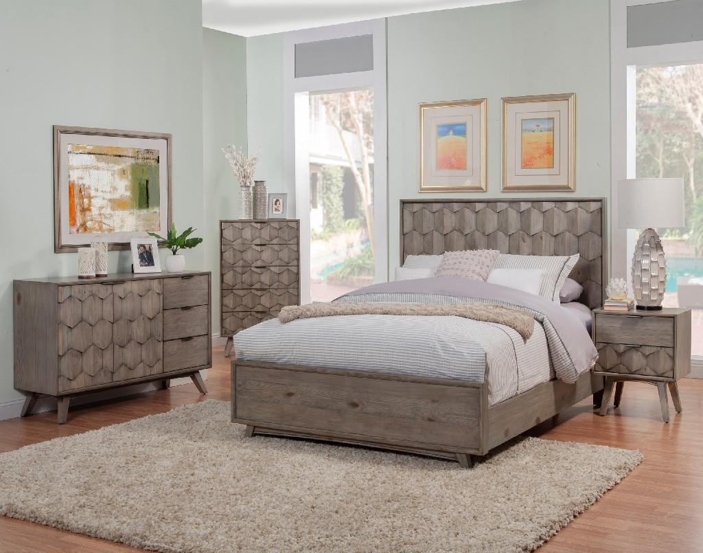 Alpine Furniture Bed Photo